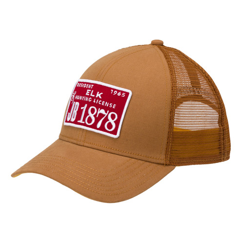 Browning License Cap with Snapback One Size Burnt Orange 308760721