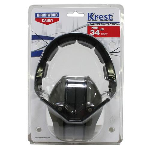 Birchwood Casey Krest Low Profile Passive Muff, 24dB 43210