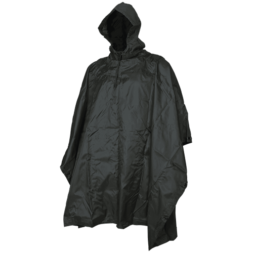 5ive Star Gear Poncho 3101000 Black