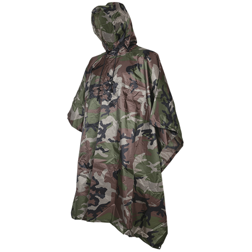 5ive Star Gear Poncho 3102000 Woodland