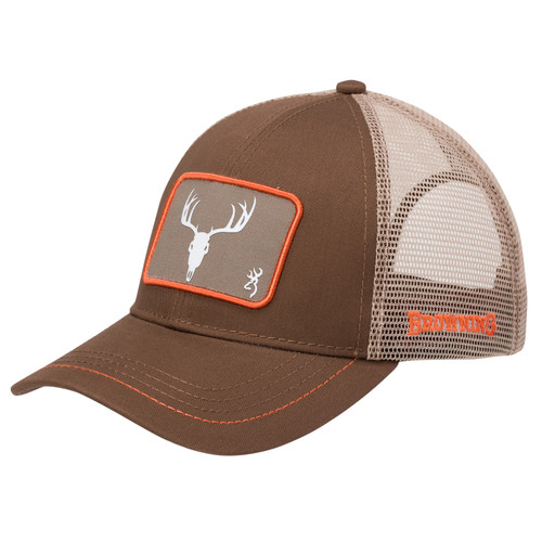 Browning Pastime Skull Cap with Snapback One Size Brown 308725681