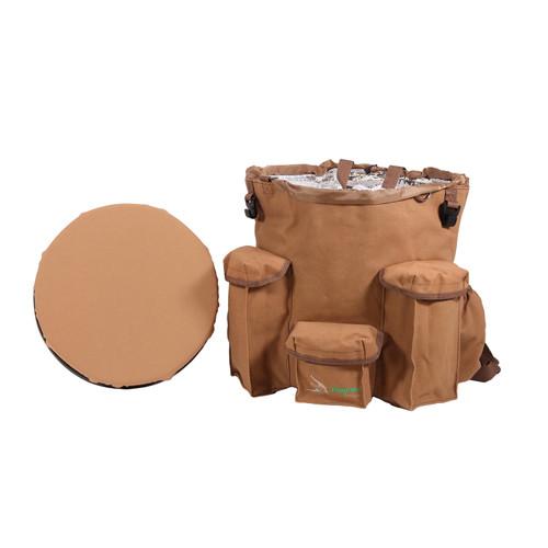 Peregrine Venture Bucket Pack Spin Seat Brown PFG-VBP3-BRN