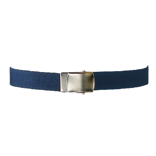 5ive Star Gear Web Belt with Metallic Closed Face Buckle 4127000 Navy 44