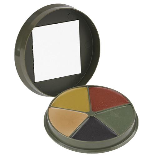 Proforce Equipment 5 Color Camo Cream Compact with Mirror  61350