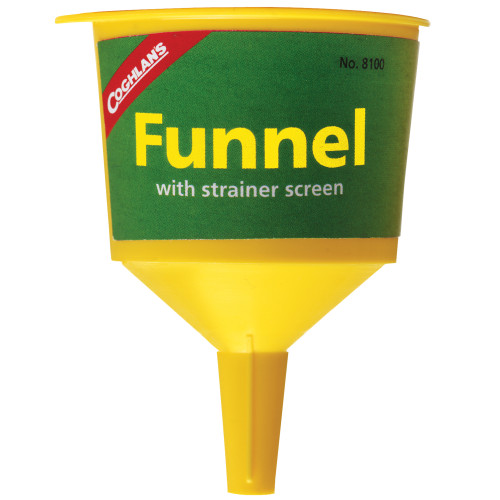 Coghlans Funnel (2.25 in.) Yellow 8100
