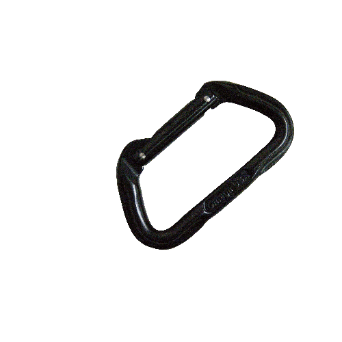 5ive Star Gear Omega Pacific 7000 Series Standard D Straightgate Carabiner 6002000 Black