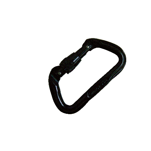 5ive Star Gear Omega Pacific 7000 Series Screwlok Carabiner 6004000 Black