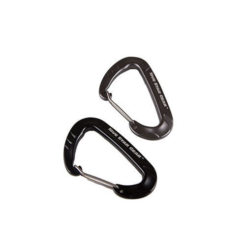 5ive Star Gear Wiregate Carabiner - 2 Pack 6029000