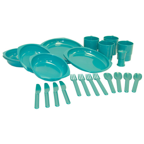 Chinook Camper Plastic Tableware Set 42450
