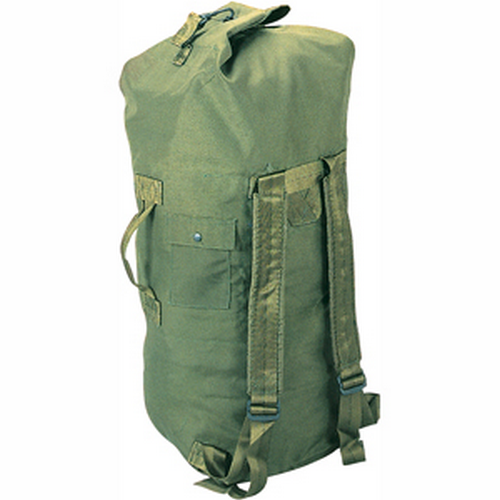 5ive Star Gear GI Spec Double Strap Duffle Bag 6329000 OD Green