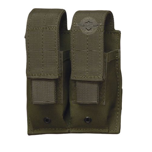 5ive Star Gear MPD-5S Double Pistol Mag Pouch 6465000 OD Green