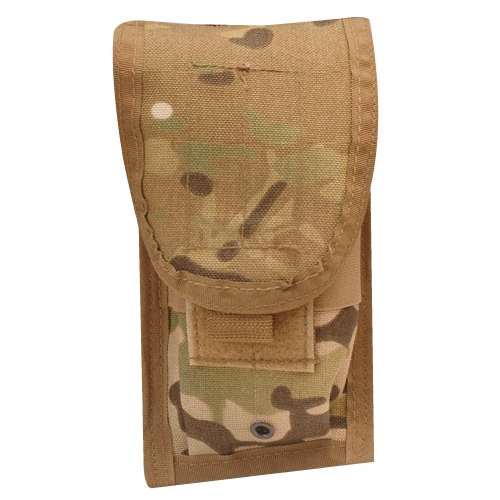 5ive Star Gear M.O.L.L.E. Compatible M4 Two Mag Ammo Pouch 6585000 MultiCam