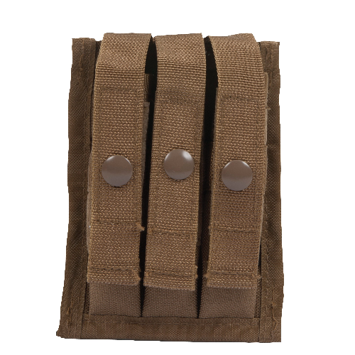5ive Star Gear M.O.L.L.E. Compatible 9mm Three Mag Ammo Pouch 6593000