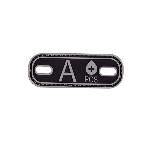 5ive Star Gear Blood Type A+ Morale Patch 6628000 Black