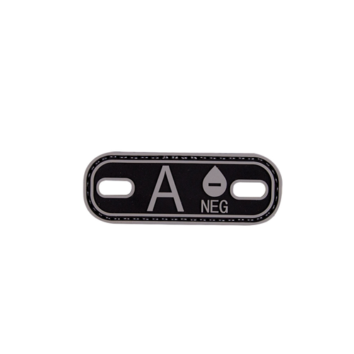 5ive Star Gear Blood Type A- Morale Patch 6629000 Black
