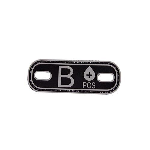 5ive Star Gear Blood Type B+ Morale Patch 6630000 Black