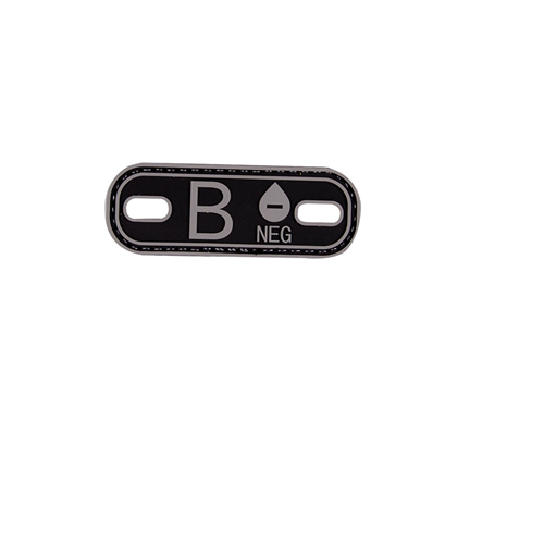 5ive Star Gear Blood Type B- Morale Patch 6631000 Black