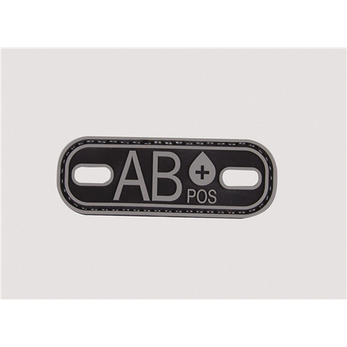 5ive Star Gear Blood Type AB+ Morale Patch 6632000 Black