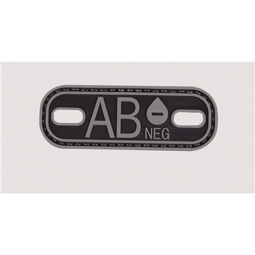 5ive Star Gear Blood Type AB- Morale Patch 6633000 Black
