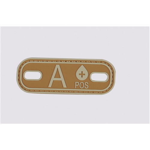 5ive Star Gear Blood Type A+ Morale Patch 6636000 Coyote