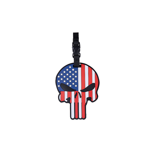 5ive Star Gear Luggage Tag 6674000 Patriotic Punisher