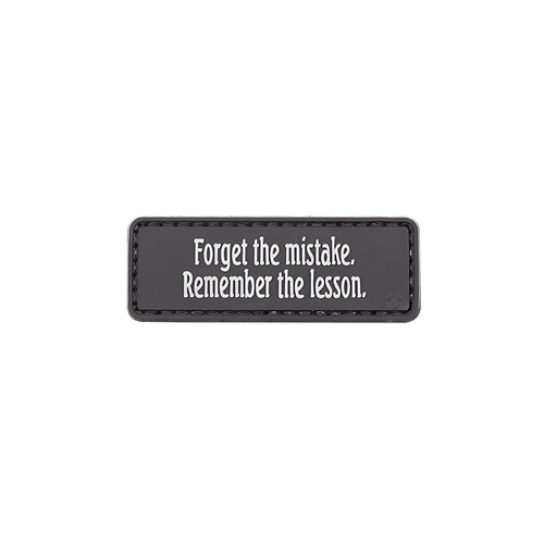 5ive Star Gear Forget The Mistake Morale Patch 6682000