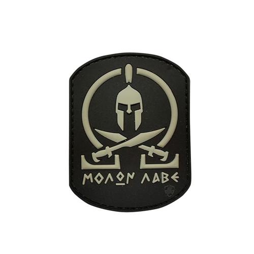 5ive Star Gear Black Molon Labe Morale Patch 6715000