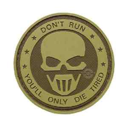 5ive Star Gear Don't Run - Ghost Morale Patch 6784000