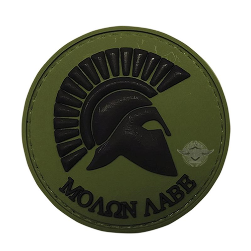 5ive Star Gear Olive Drab Molon Labe Morale Patch 6797000