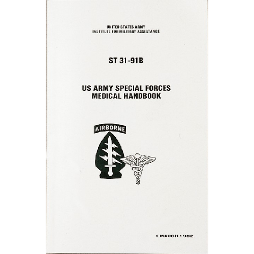 5ive Star Gear Special Forces Medical Manual 7001000