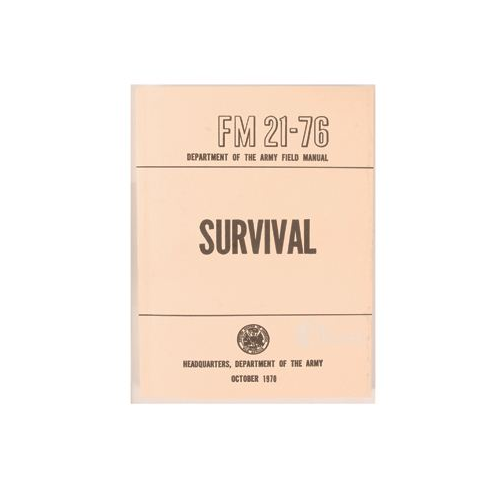 5ive Star Gear Survival Manual 7025000