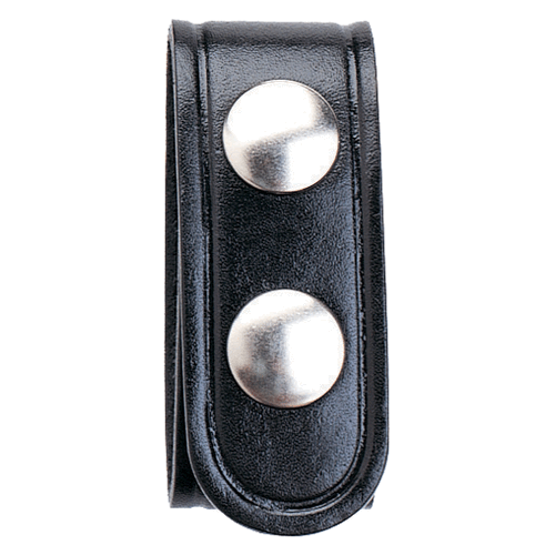 Aker Leather Double Snap 1 Wide Belt Keeper A530-BW