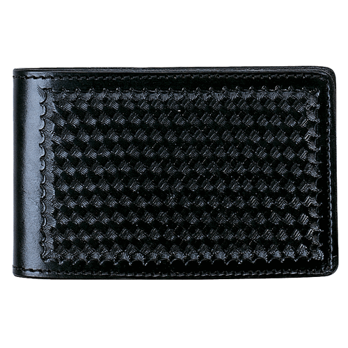Aker Leather Notebook Cover A583-BP Black Plain 4in. x 7in.