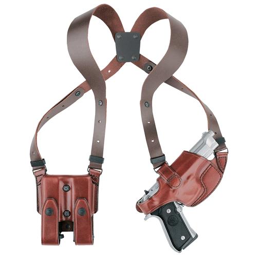 Aker Leather Comfort-Flex Shoulder Holster H101TPRU-CO1911 Tan Colt 1911 Right