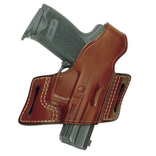 Aker Leather 132A White Lightning Strapless Open Top Holster H132ABPRU-BE92F