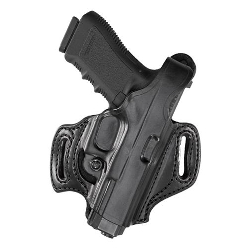 Aker Leather Flatsider Xr12 H168BPRU-CO OFF Black Colt Officer Right