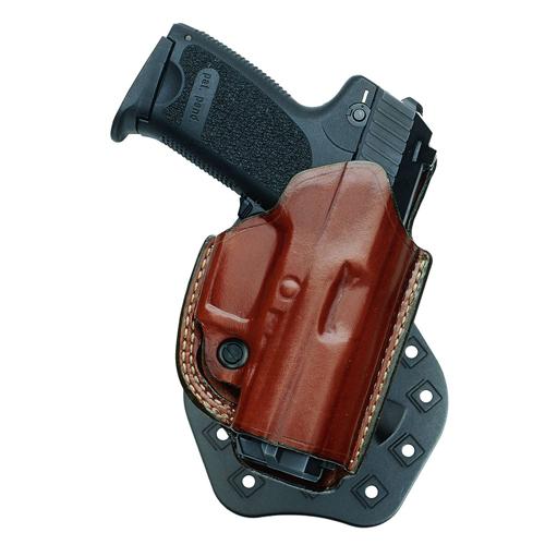 Aker Leather Flatsider Paddle Xr-19 Nostrap H268ATPRU-GL 43 Tan Glock 43 Right