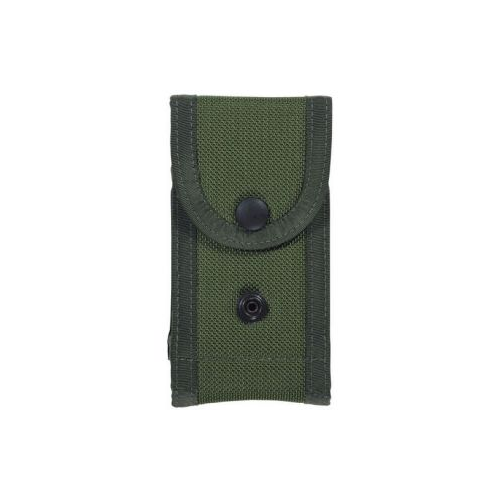 Bianchi Model M1025 Military Double Magazine Pouch 17646 OD Green 03