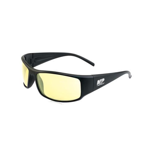 S&W M&P Thunderbolt Shooting Glasses Black Frame Amber Lens 110167