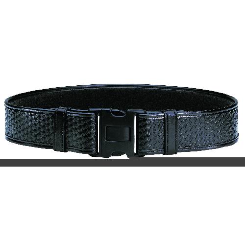 Bianchi Model 7950 Duty Belt 2.25 (58mm) 22712 Black Plain 38-40