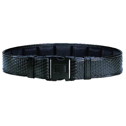 Bianchi Model 7950 Duty Belt 2.25 (58mm) 22773 Black Basket Weave 26-28
