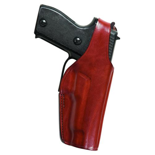 Bianchi Model 19L Thumbsnap Suede Lined Belt Slide Holster 23307 8AR Left