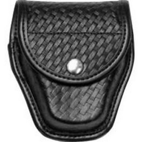 Bianchi Model 20C Double Magazine Pouch 26337 Basket Weave 02 Chrome