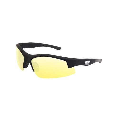 S&W M&P Super Cobra Shooting Glasses Black Frame Amber Lens 110170