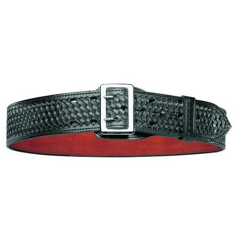 Bianchi Model B2 Sam Browne Belt - PatrolTek Leather 26364 Basket Weave Chrome 38