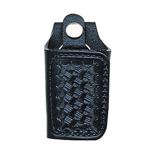 Bianchi Model 31C Silent Key Holder - PatrolTek Leather 26459 Basket Weave Chrome
