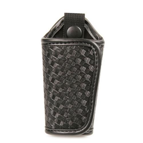 Bianchi Model 31C Silent Key Holder - PatrolTek Leather 26461 Basket Weave Brass