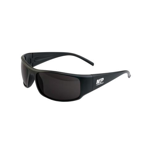 S&W M&P Thunderbolt Shooting Glasses Black Frame Smoke Lens 110166