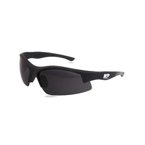 S&W M&P Super Cobra Shooting Glasses Black Frame Smoke Lens 110169