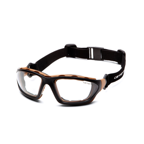 Pyramex Carhartt Carthage Safety Glasses Clear Anti-Fog Lens CHB410DTP